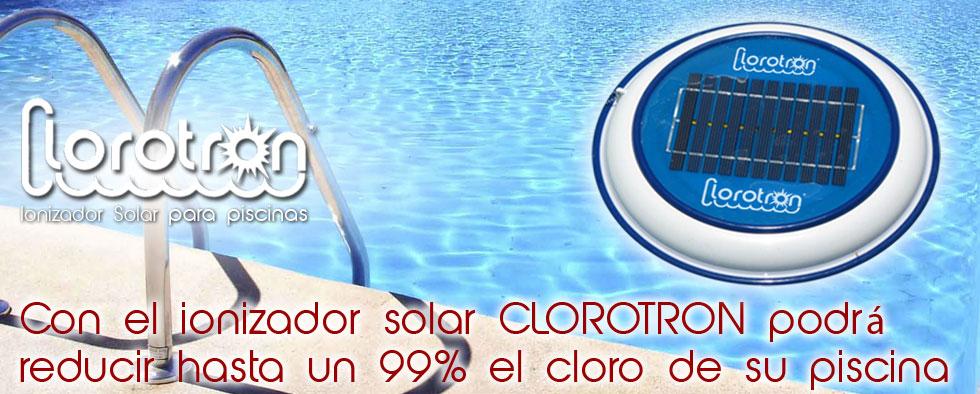 Clorotron ionizador solar para piscinas for Ionizador para piscinas